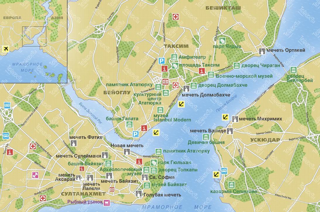 Карта на русском