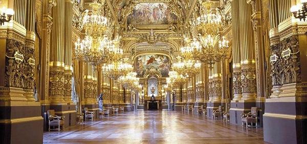 Опера Гарнье - фойе