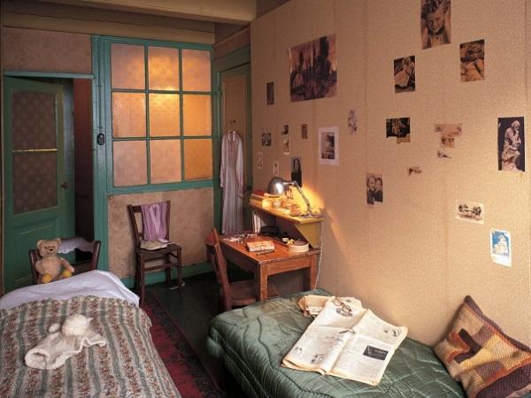 Дом-музей Анны Франк внутри
