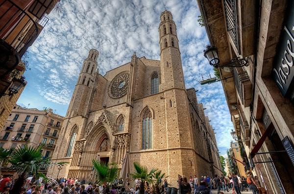 Церковь Марии дель Пи