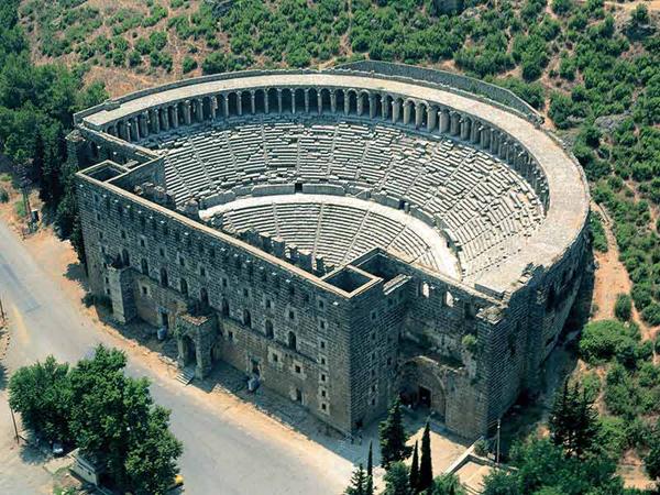 Античный город Аспендос