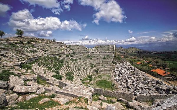 Руины античного города Сельге