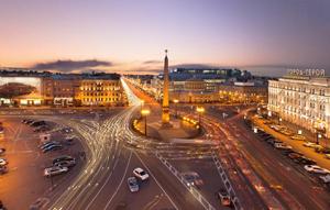 Время в Санкт-Петербурге совпадает с Московским