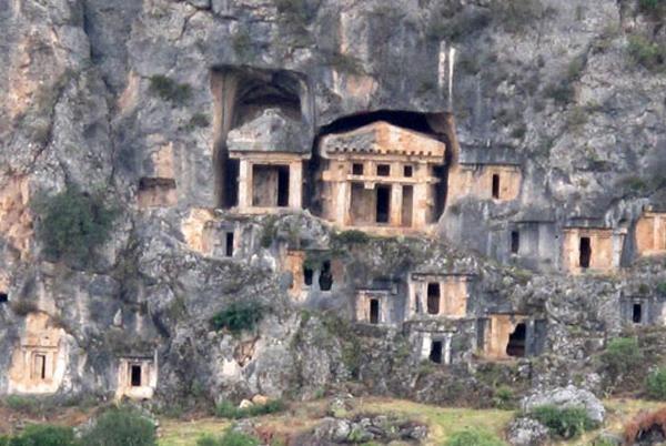 Античный город Пинара