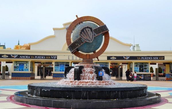 Тематический парк «Warner Brothers» (Parque temático «Warner Brothers»)