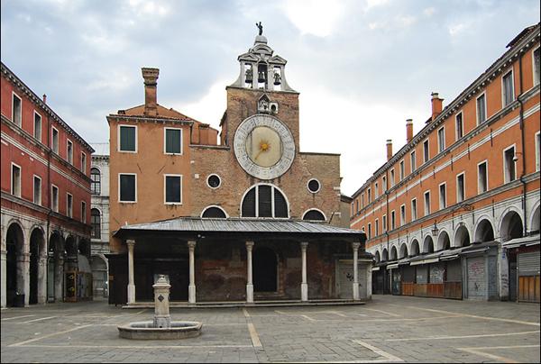Церковь Сан Джакомо ди Риальто (Chiesa di San Giacomo di Rialto)