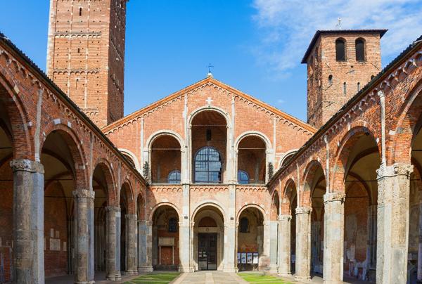 Базилика Святого Амвросия (Basilica di Sant'Ambrogio)