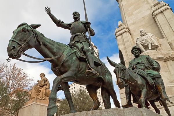Памятник Дон Кихоту (Monumento a Don Quijote)