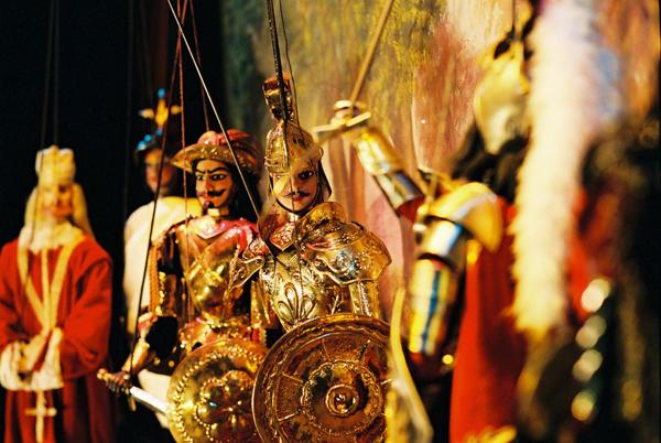Сицилия славится своими марионетками