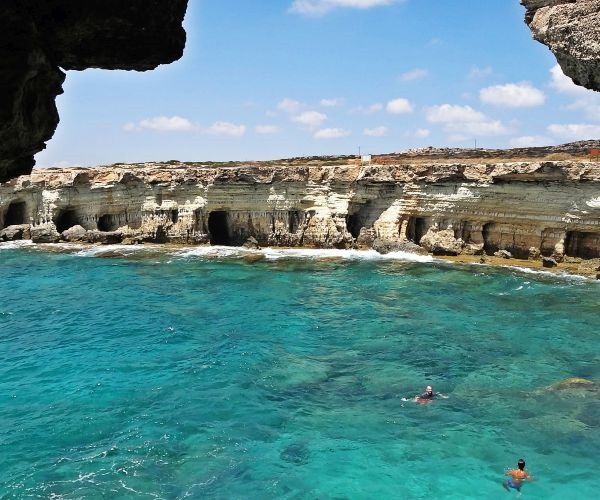 Морские пещеры Пафоса