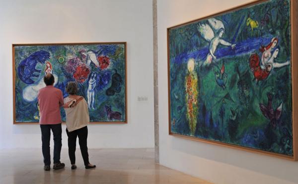 Музей М. Шагала (Musée national du message biblique Marc Chagall)