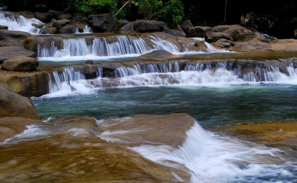 Водопады Бахо (Suoi Ba Ho)