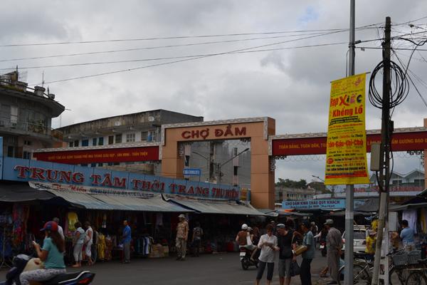 Рынок Чо Дам (Cho Dam Market)
