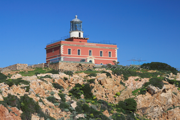 Маяк Faro di Capo Spartivento