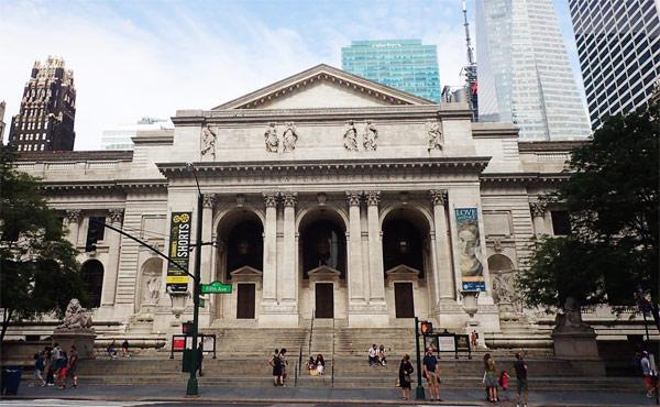 The New York Public Library (Нью-Йоркская публичная библиотека)