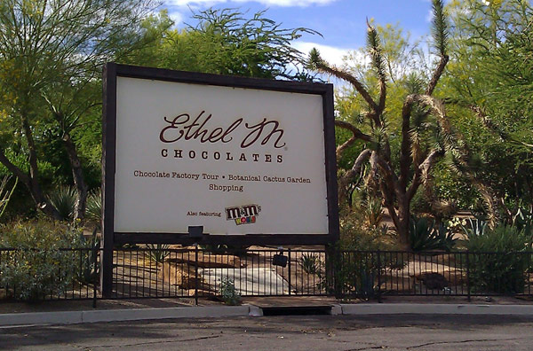 Шоколадный тур Ethel M (Ethel M Chocolate Tour)