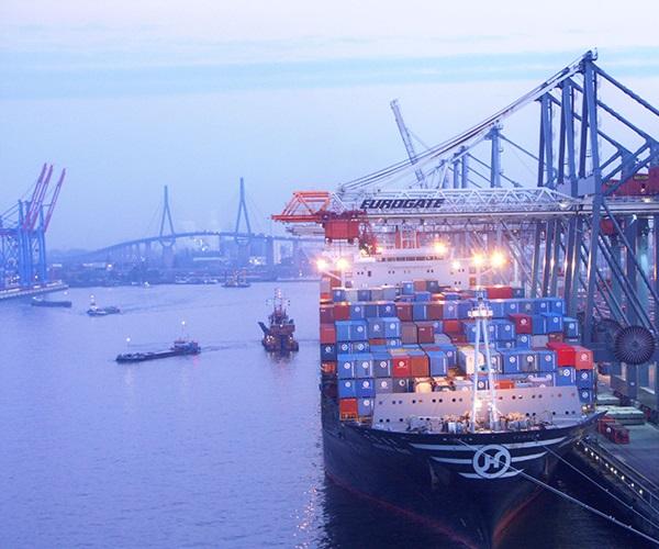Порт Гамбург