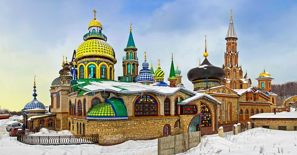Храм всех религий уникален