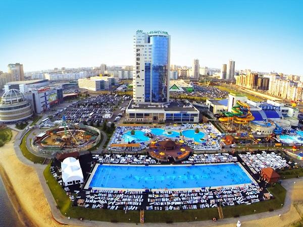 Один из самых больших аквапарков