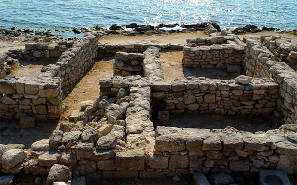 руины древнегреческого полиса