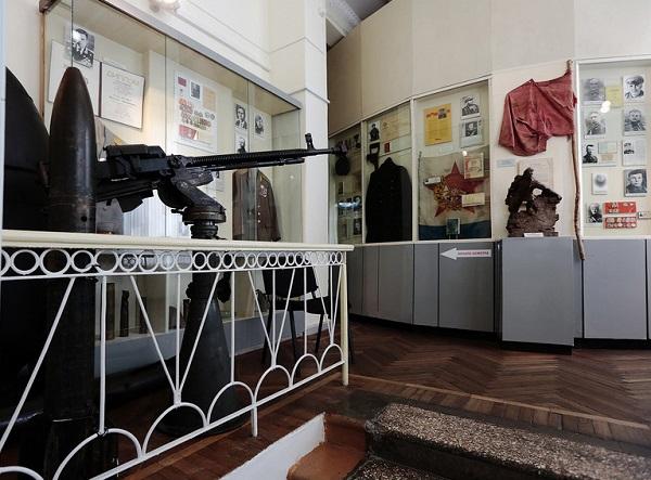исторический музей-заповедник внутри