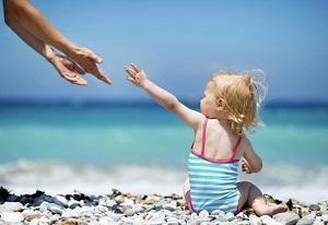 Поездка на море с детьми