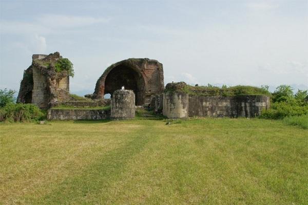 Руины дворца Гегути