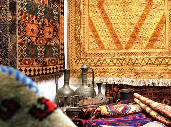 Индийские ковры с уникальными узорами