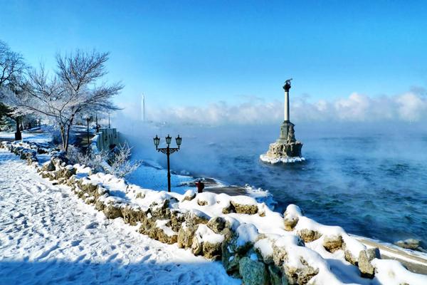 Зимой Крым так же удивителен, как и летом
