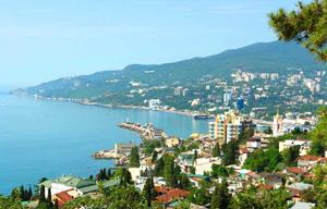 Ялта является центром курортной жизни Крымского полуострова