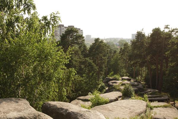 Ботанический сад и Шарташский лесопарк