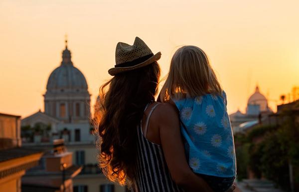 В Рим с детьми