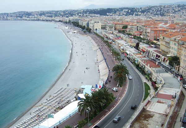 Английская набережная (Promenade des Anglais)