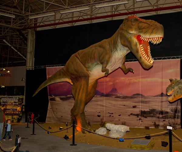 Парк живых динозавров