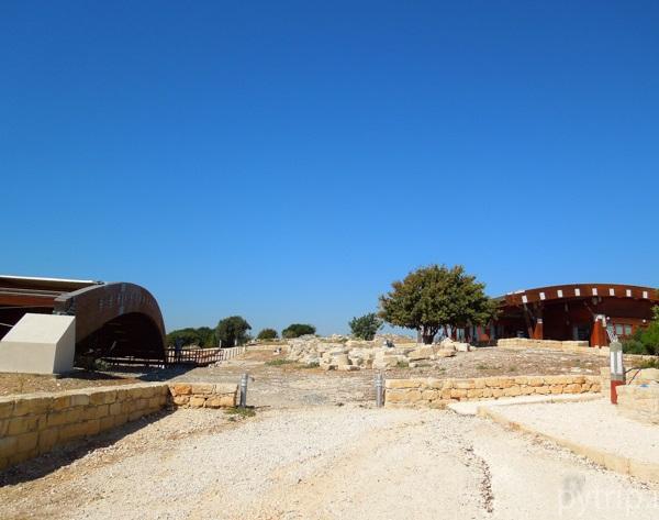 Раскопки города Курион