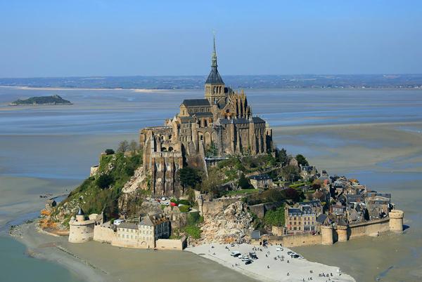 Город-крепость Мон-Сен-Мишель