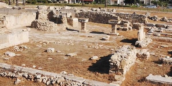Развалины древнего Китиона