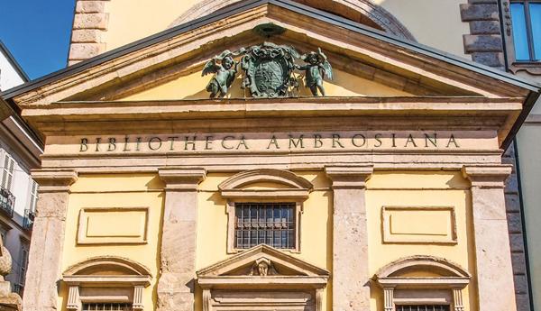 Амброзианская библиотека (Biblioteca Ambrosiana)