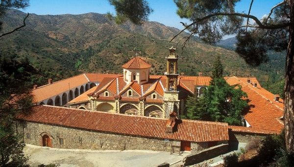 Монастырь Махерас