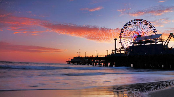 Пирс в Санта-Моники (Santa Monica Pier)