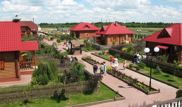 Этнографический комплекс «Белорусская деревня»