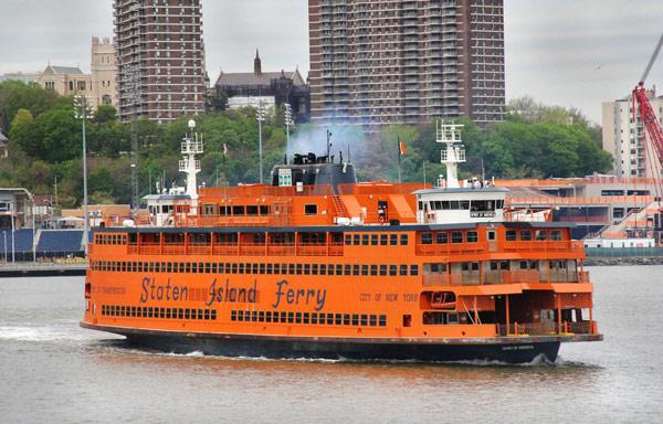 Паром Staten Island Ferry (Статен-Айленд Ферри)