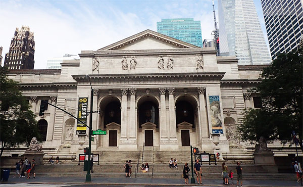 The New York Public Library (Нью-Йоркская публичная библиотека)