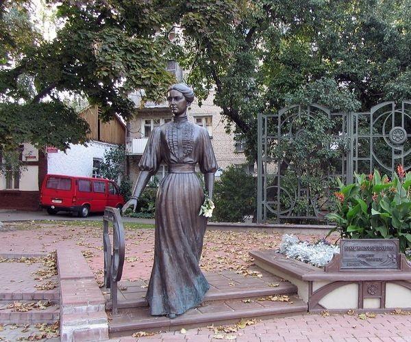 Памятник Ирине Ивановне Паскевич