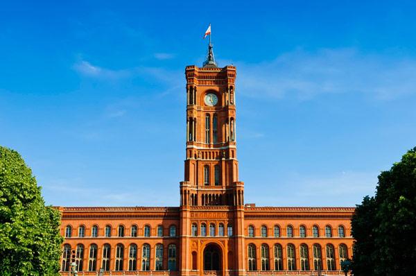 Красная Ратуша (Rotes Rathaus)