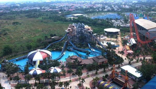 Парк аттракционов Siam Park City