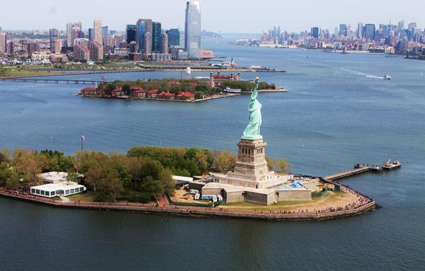 Statue of Liberty & Ellis island (Статуя свободы и остров Эллиса)