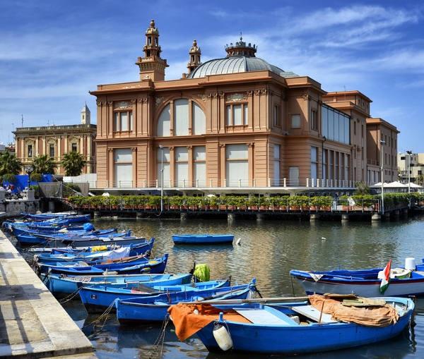 Театр Маргерита в старом порту