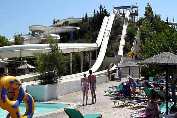 Аквапарк WaterPark в Фалираки