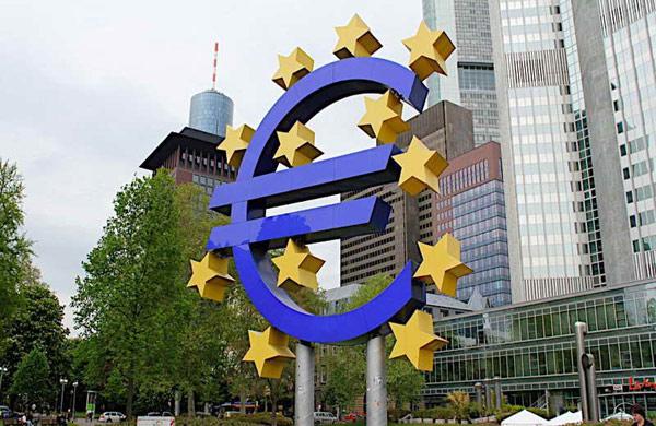 Памятник евро (Euro-Skulptur)